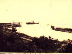 Строежът на Царевското пристанище от 1927 до 1937 г.