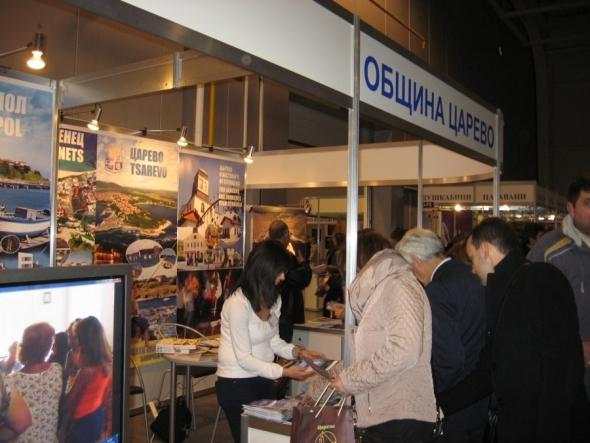 Община Царево се представя блестящо на международната туристическа борса