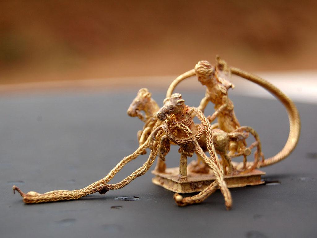 златно тракийско съкровище