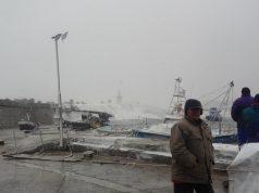 Зимна буря в Царево през 2012 година