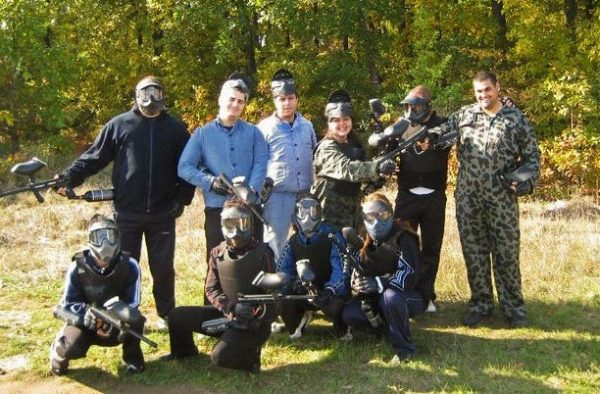 PaintBall Арапя