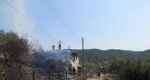 Пожар изпепели почти напълно къща в село Кости