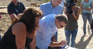 Министър Дянков впечатлен от съкровището в Синеморец