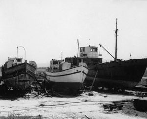 Кораб Странджа, построен в Царево.