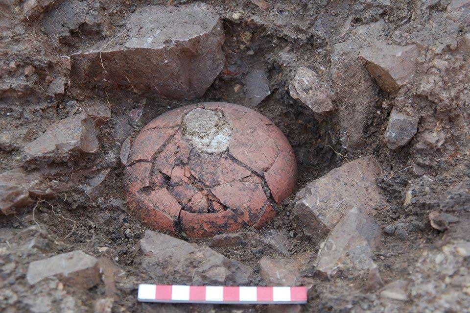 Снимки на откритото съкровище в Синеморец