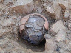 Откриването на монетното съкровище от Синеморец