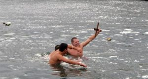 Атанас Екшиев за втора поредна година хвана кръста в Царево