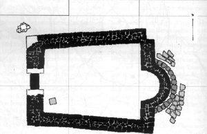 Църква в крепост Ургури - с. Българи