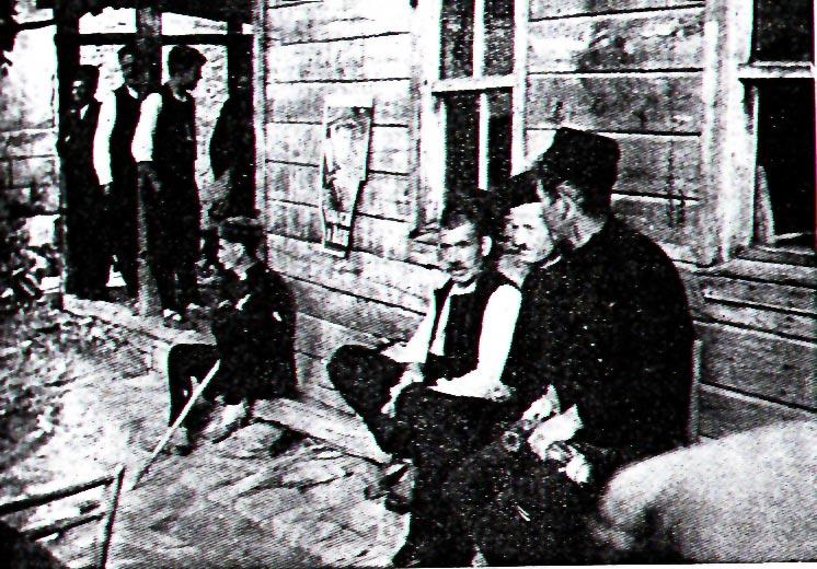 Кръчма-дукян в село Българи от началото на XX в.