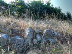 Останки от крепостта Кастрич, с. Резово, общ. Царево