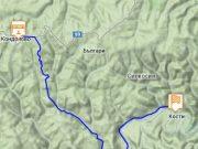 Туристически маршрут №1 от с. Кондолово до с. Кости