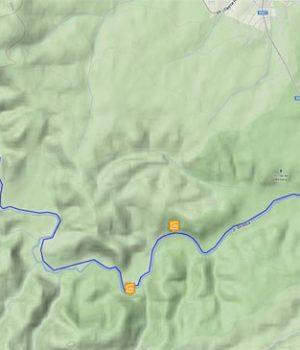 Туристически маршрут №2 от с. Синеморец до с. Бродилово