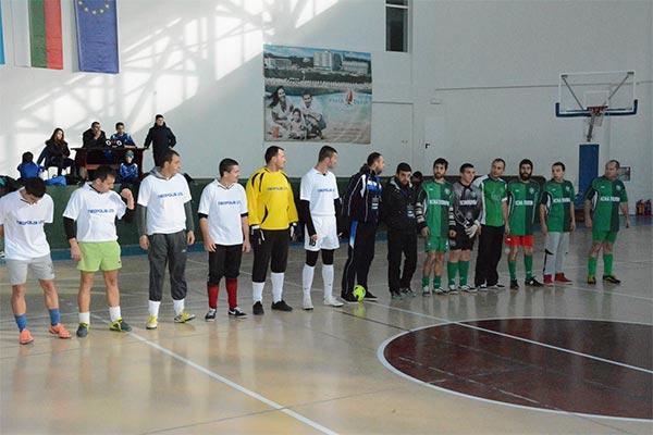 Ахтопол с първа победа на първенството по футбол в зала