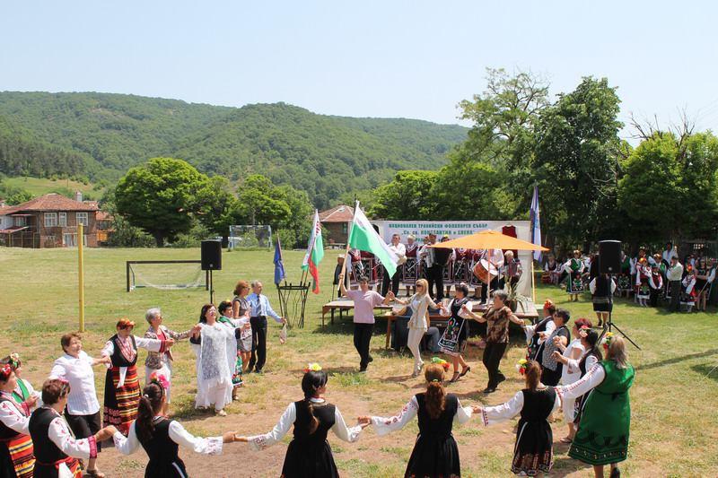 Национален фолклорен събор Св.Св. Константин и Елена 2014