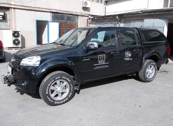Нови автомобили за охрана на резерватите в Бургаски регион