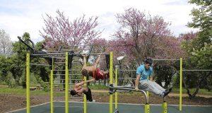 В Царево откриха спортна площадка за стрийт фитнес