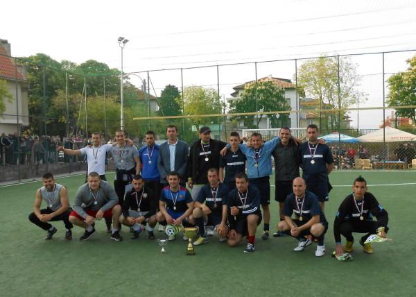 Резултати от третият турнир за купата на кмета 2014