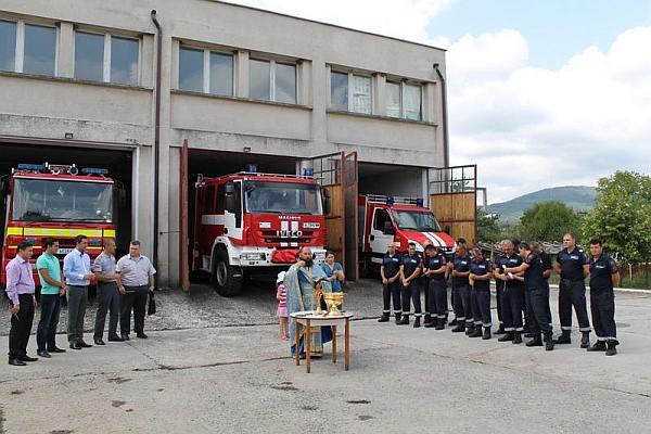 Пожарната в Царево получи нови автомобили