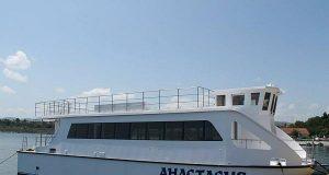 Катамарана за остров Света Анастасия вече е на вода