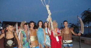 """Бог Нептун """"кръсти"""" рускиня, сърбин и румънец в Царево"""