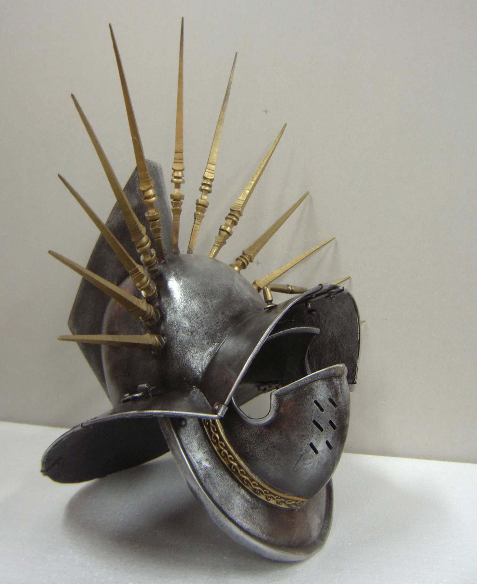 Гладиаторски шлемове от римската епоха в Общински исторически музей - Царево
