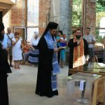 """Посрещане на Чудотворната икона """"Св. Богородица Козница"""" в Ахтопол (снимки)"""
