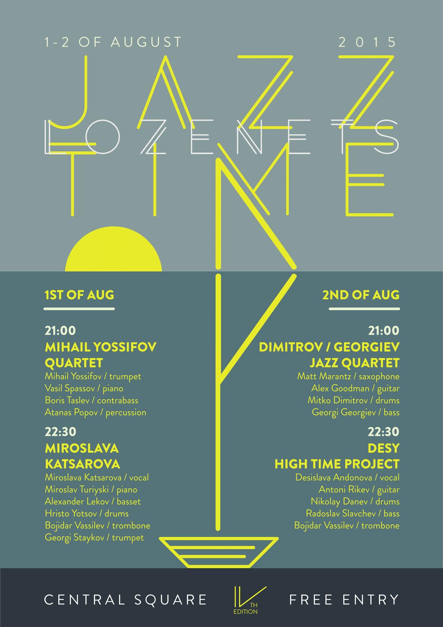 Lozenets Jazz Time 2015