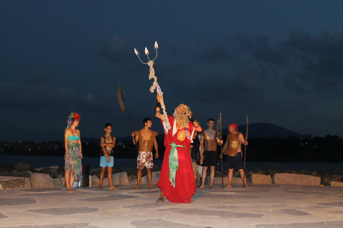 Посрещане на бог Нептун в Царево