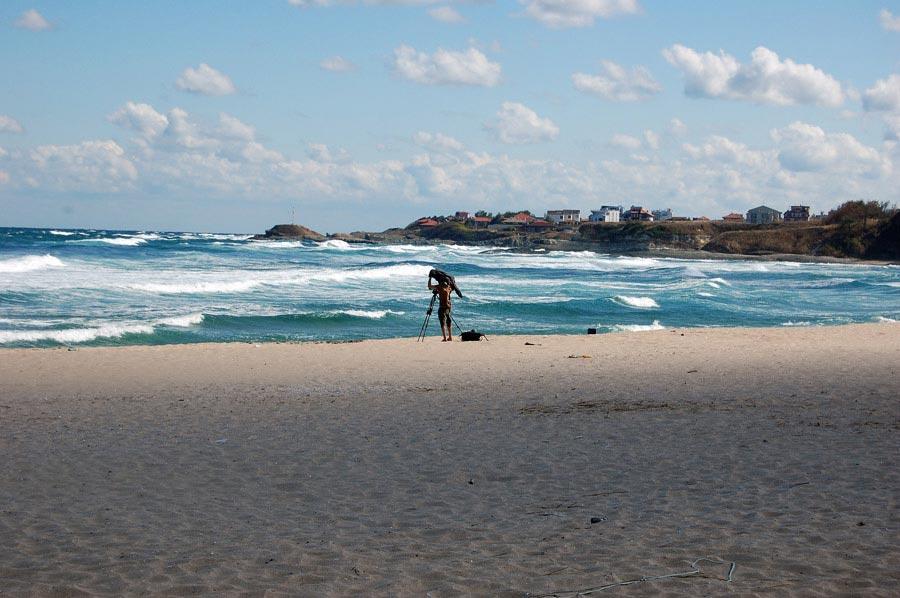 Спомен за първото професионално сърф приключение у нас