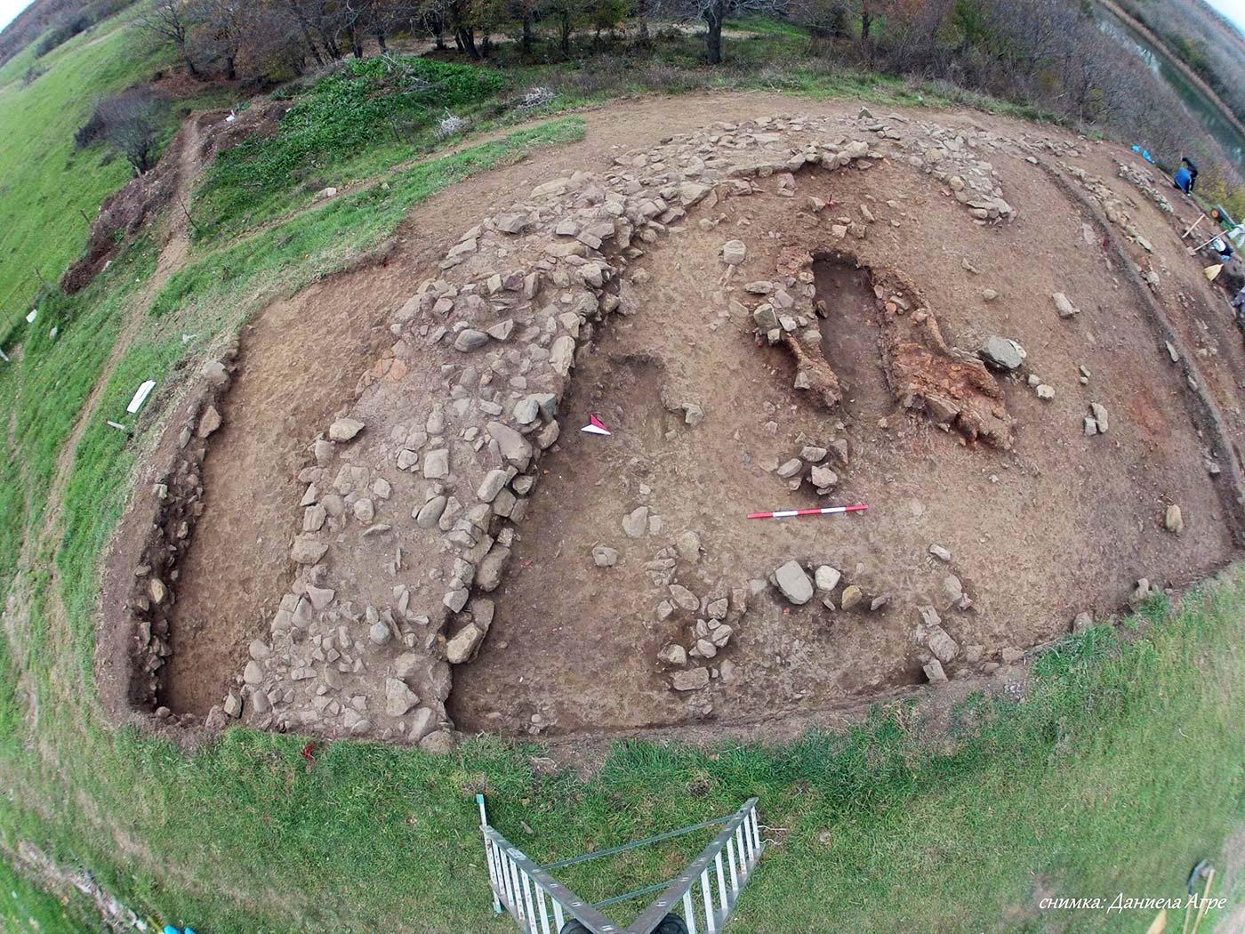Археолози проучиха домове от Астейското царство край Бродилово и Синеморец