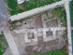 Златна монета на император Юстин І открита при разкопките в Ахтопол