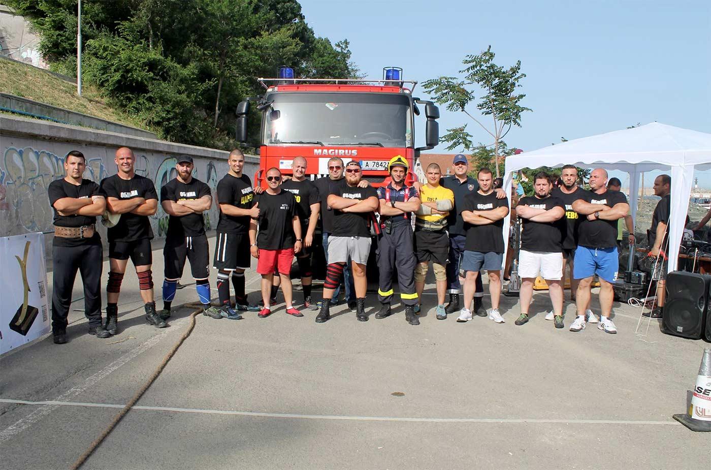 Най-силните мъже на Балканите се състезаваха в Царево