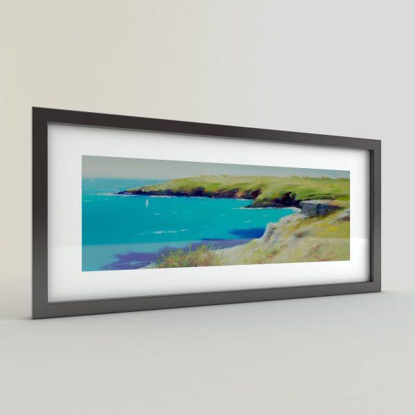 Тончо Тончев - картина Тюркоазеното море
