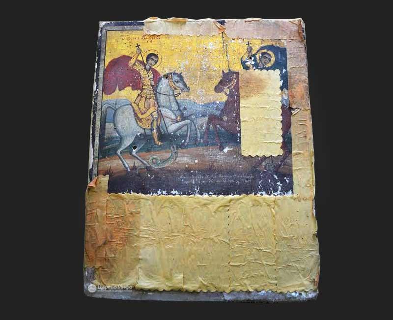 Започна реставрация на икони от църквите в Бродилово и Костѝ