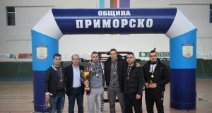 """""""Царево"""" се пребори за купата на кмета в Приморско"""