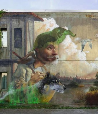 Художници превръщат Ахтопол в галерия на открито по време на фестивала We All Write