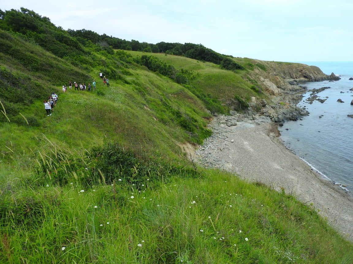 Поход по крайбрежие от Ахтопол до устието на река Велека