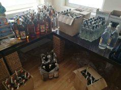 Задържаха алкохол с неправилно поставени бандероли в Царево