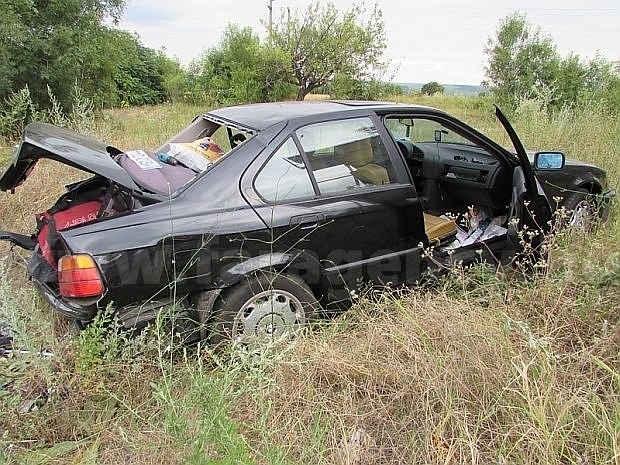 Жител на Царево изхвърча от пътя при шофиране с несъобразена скорост