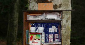 """Служители на ПП """"Странджа"""" поставиха горски аптечки до отдалечени светилища в планината"""