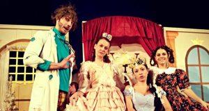 """Детската постановка """"Принцесата, която не искаше да играе"""" на сцената на читалището в Царево"""