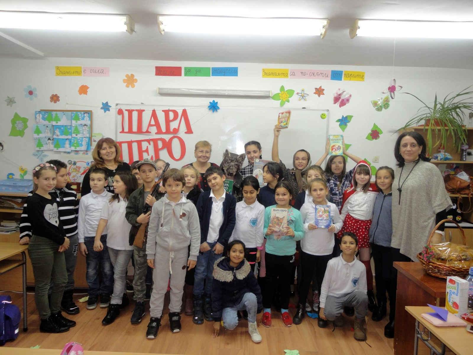 Деца от Царево отбелязаха 390 години от рождението на Шарл Перо с тържество