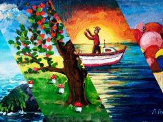 """Рисунки на ученици от СУ """"Никола Йонков Вапцаров"""" в Царево - Част 1"""