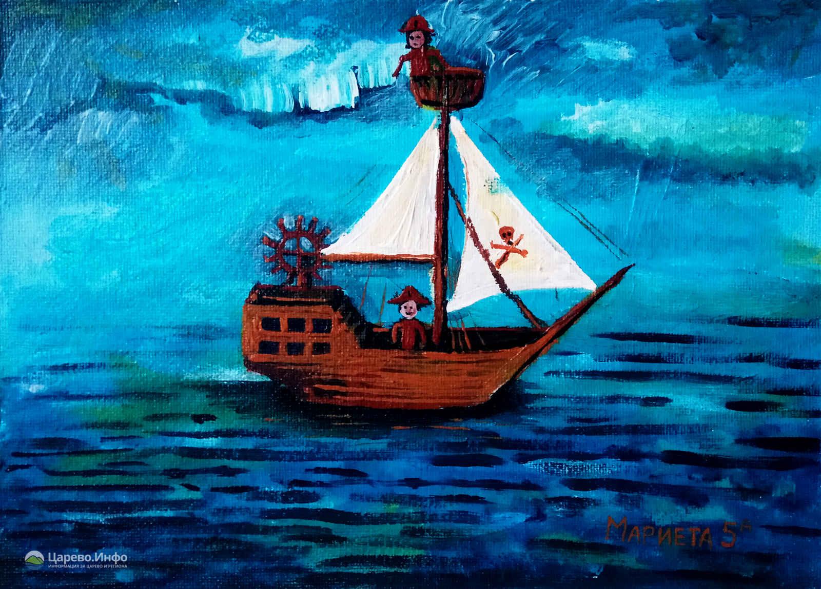 Рисунки на ученици от СУ Никола Йонков Вапцаров в Царево - Част 1