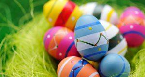 Творческа работилница за великденски яйца за децата в Лозенец