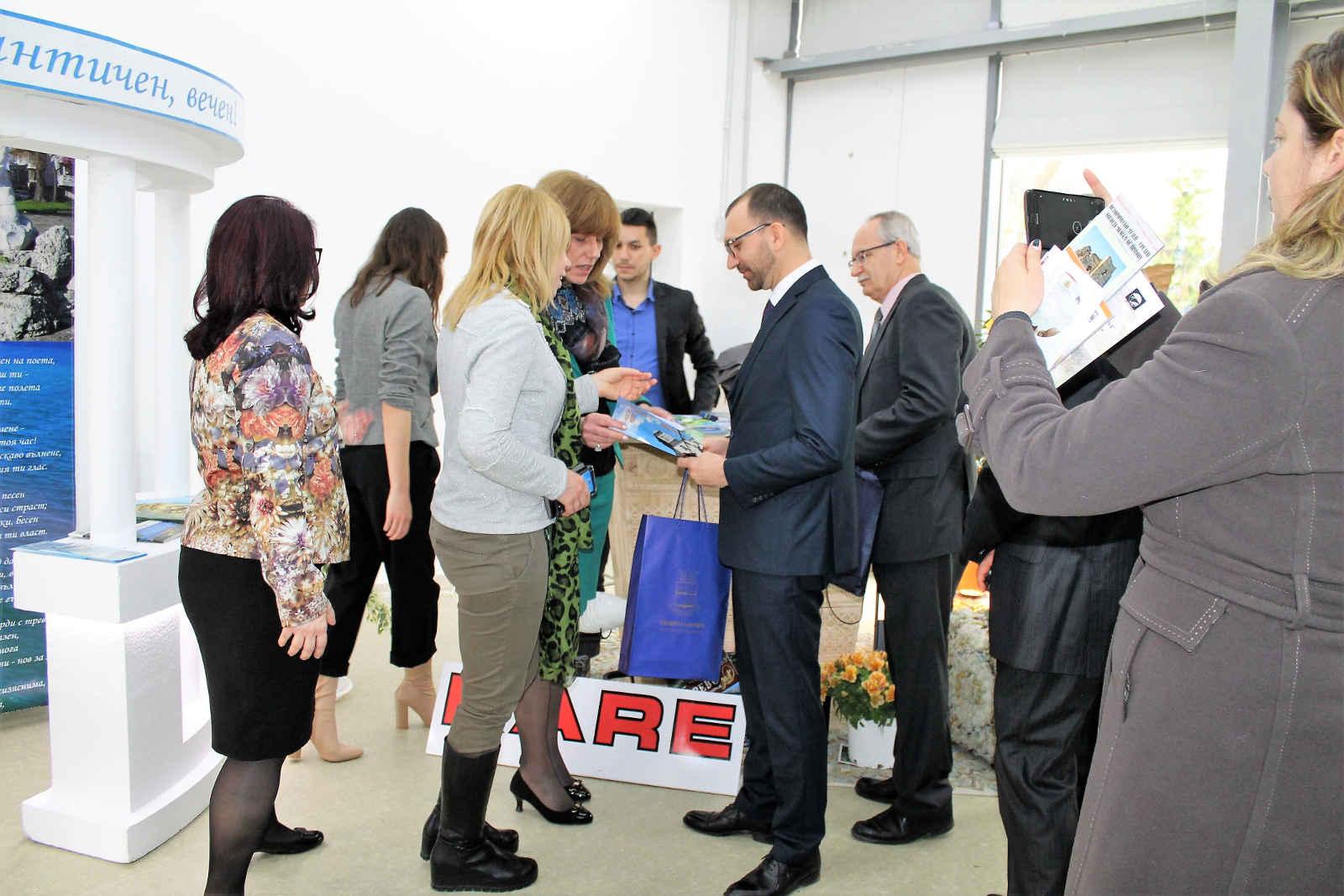 Снимка на фокус, април 2018, Община Царево участва в туристическа борса