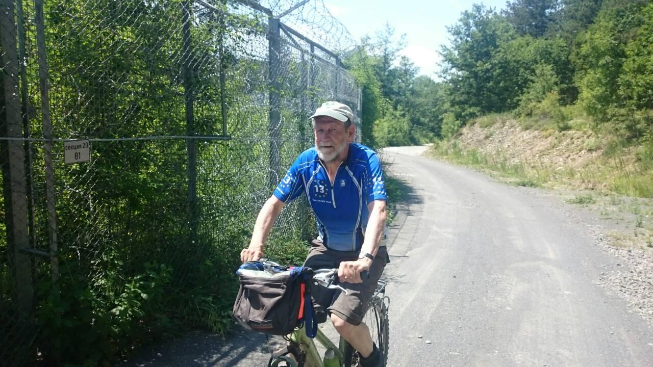 Представители на Вело Царево се срещнаха с евродепутата и виден колоездач Михаел Крамер