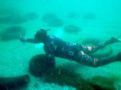 Водолази извадиха над 80 автомобилни гуми от залива в Ахтопол по време на Diving Fest 2018