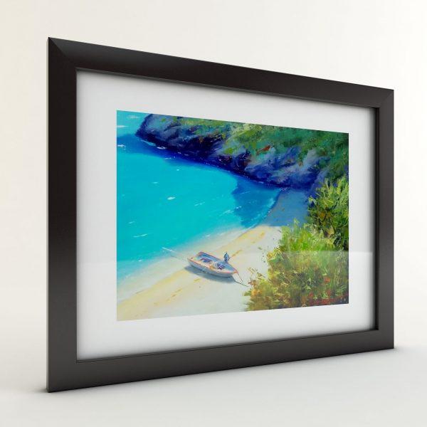 Тончо Тончев - картина Самотният бряг