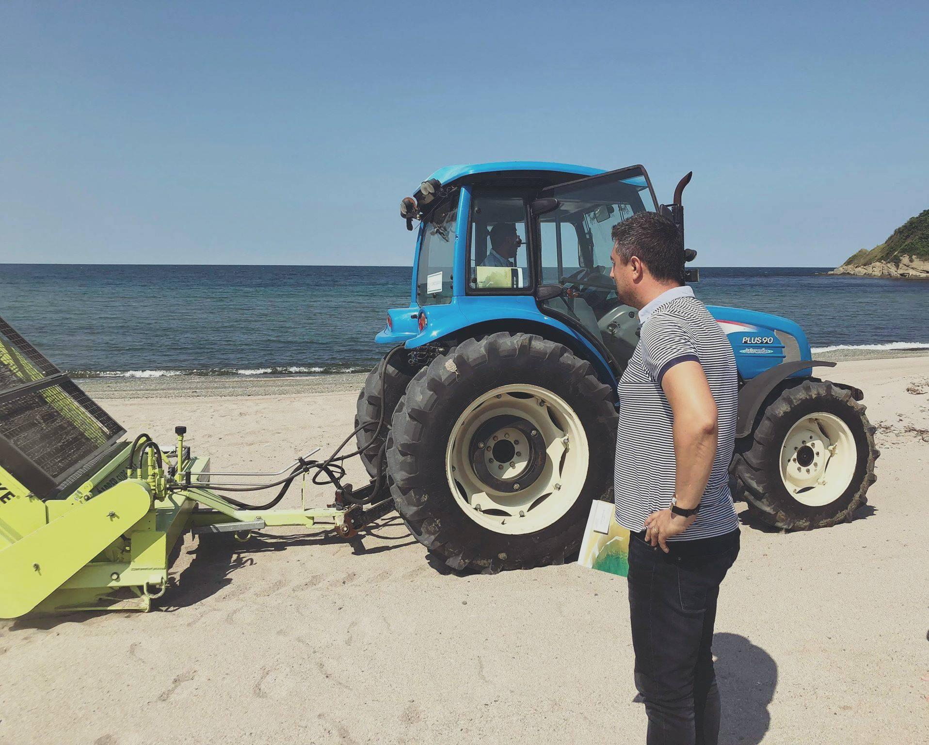 Община Царево организира почистване на Попския плаж
